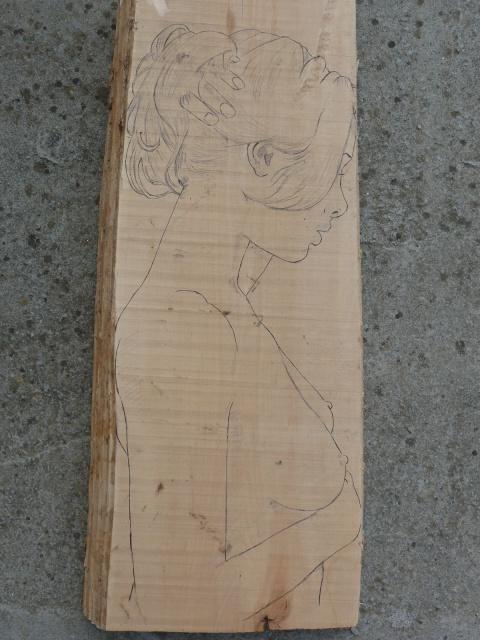 JJ - bas relief d'un nu (2013) 505382002