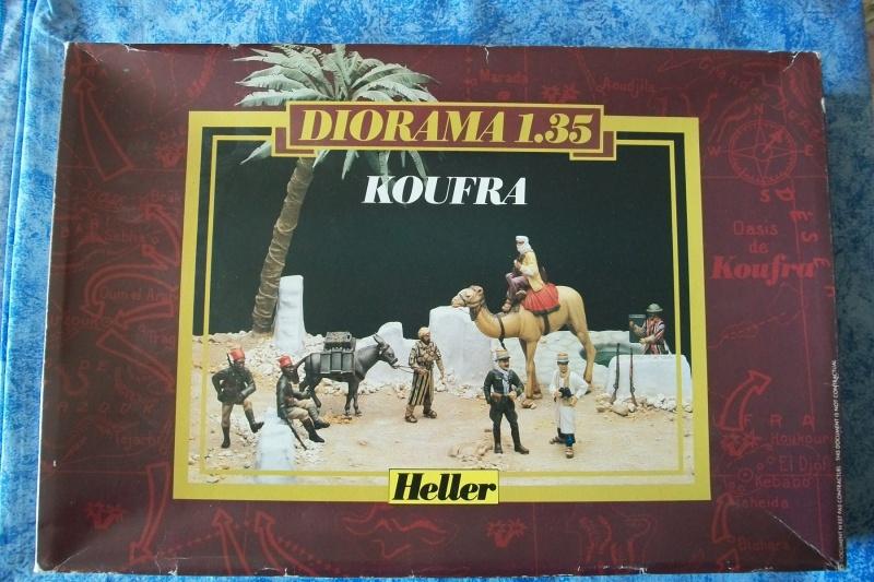 [ Heller ] Diorama Koufra 1/35 505883Heller81101001DioramaKoufra135