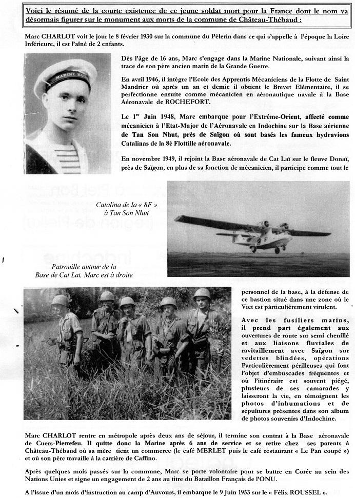 15 Juin 2013 Hommage au soldat Marc CHARLOT du Régiment de Corée Mort pour la France en Indochine  505901img487Copie