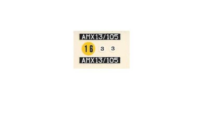 AMX 13 Canon de 105 [ Heller ] 1/35 50658013105013