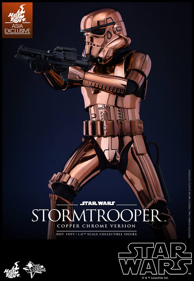 HOT TOYS - Star Wars: TFA - Stormtrooper Copper Chrome 507352104