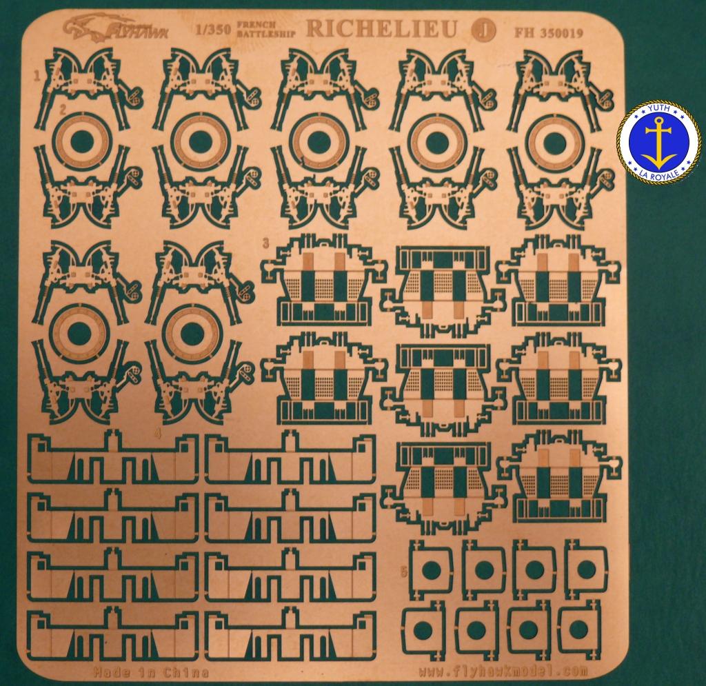 Set Richelieu 1/350 Super Detail FLYHAWK 507858Richelieuflyhawk016