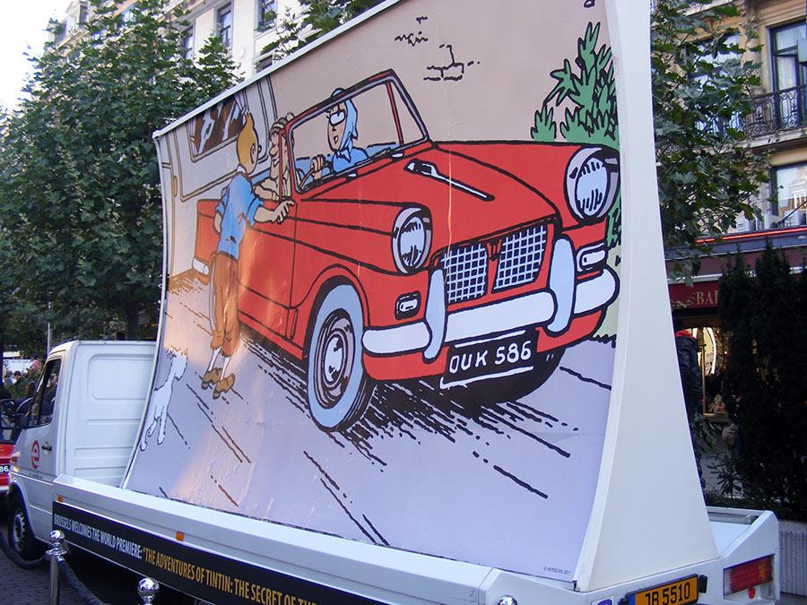 """Bruxelles côté BD  """"Tintin en automobile"""" - Page 2 507885DSCF6236"""