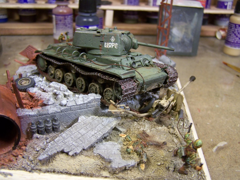 """""""Le duel"""" KV1c vs Panzergrenadiere Russie 1942 (terminé) - Page 2 5097271005497"""
