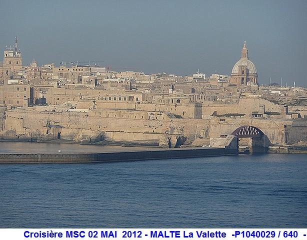 MSC Splendida Du 28 avril au 5 mai 2012 Gêne Barcelone Tunis La valette Taormine Messine Rome 510500P1040029