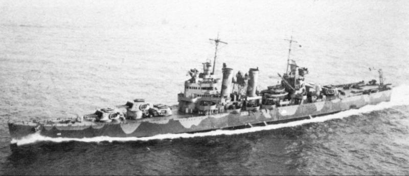 USN CROISEUR LOURD USS WICHITA 510582USSBrooklyn1942