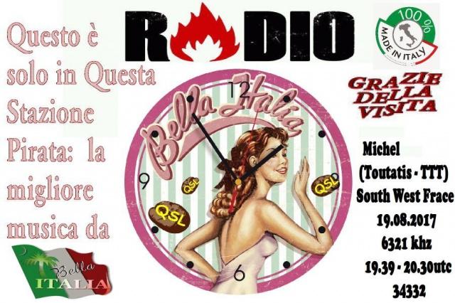 eQSL de Radio Bella Italia 510934RadioBellaItalia3