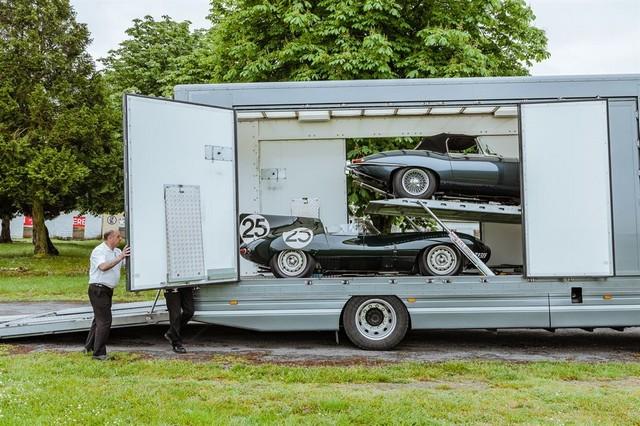 Les Jaguar XF, F-Pace et F-Type célèbrent les 60 ans de la victoire de la Type D aux 12 Heures de Reims Lors De La 22ème Edition De Sport Et Collection 513029IMG4543LowRes