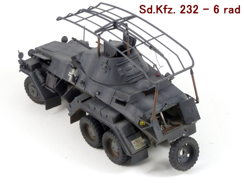 Sd.Kfz. 232 6 Rad - France 1940 - Italeri 1/35 514049P1040087