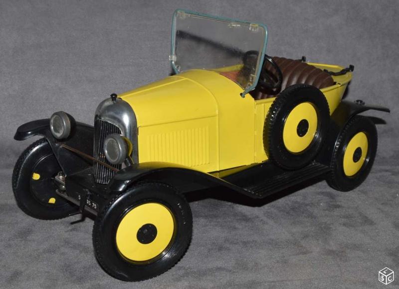 Citroën 5HP Torpédo 1923 - 1926 au 1/10ème de France-jouet       sur ponts-trans HSP Kulak 1/18ème    5156175HPFJMARCO86497c41b151ec479a70881f38dccd14a5a50617