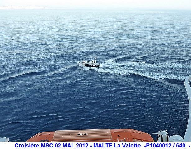MSC Splendida Du 28 avril au 5 mai 2012 Gêne Barcelone Tunis La valette Taormine Messine Rome 516467P1040012