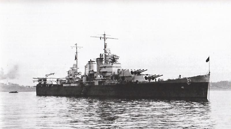 USN CROISEUR LOURD USS WICHITA 516865USSWichita1944