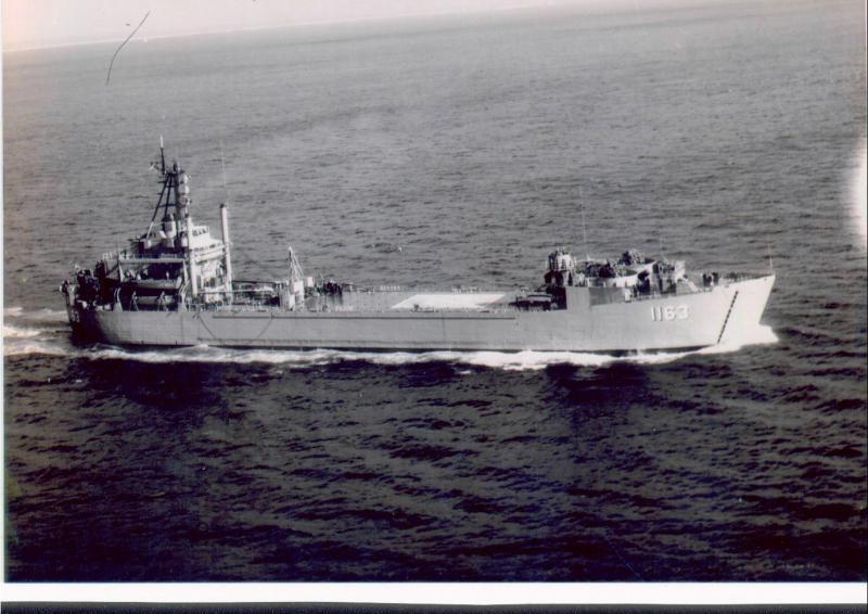 LANDING SHIP TANK (LST) CLASSE NEWPORT  517343USSWaldoCountyLST1163