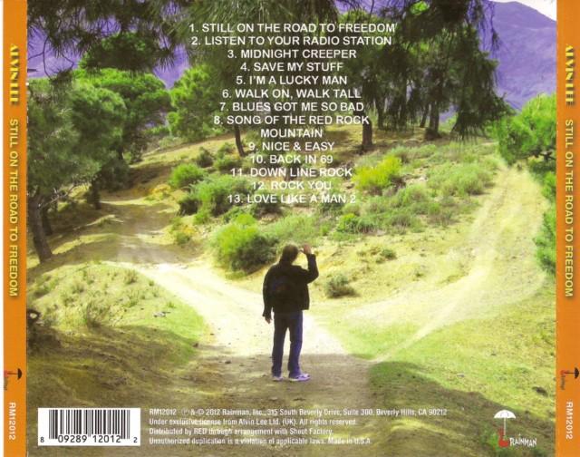 ALVIN LEE - Still On The Road To Freedom 519240AlvinLeeback