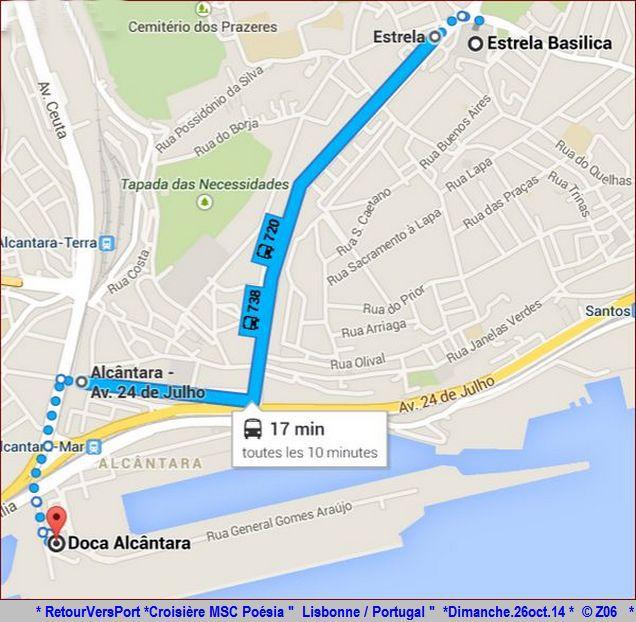 Z06 / C/R MSC.... Poesia 21/10 au 30/10 2014   Gêne Malaga Casablanca Lisbonne Barcelone Marseille 519748RetourVersPort