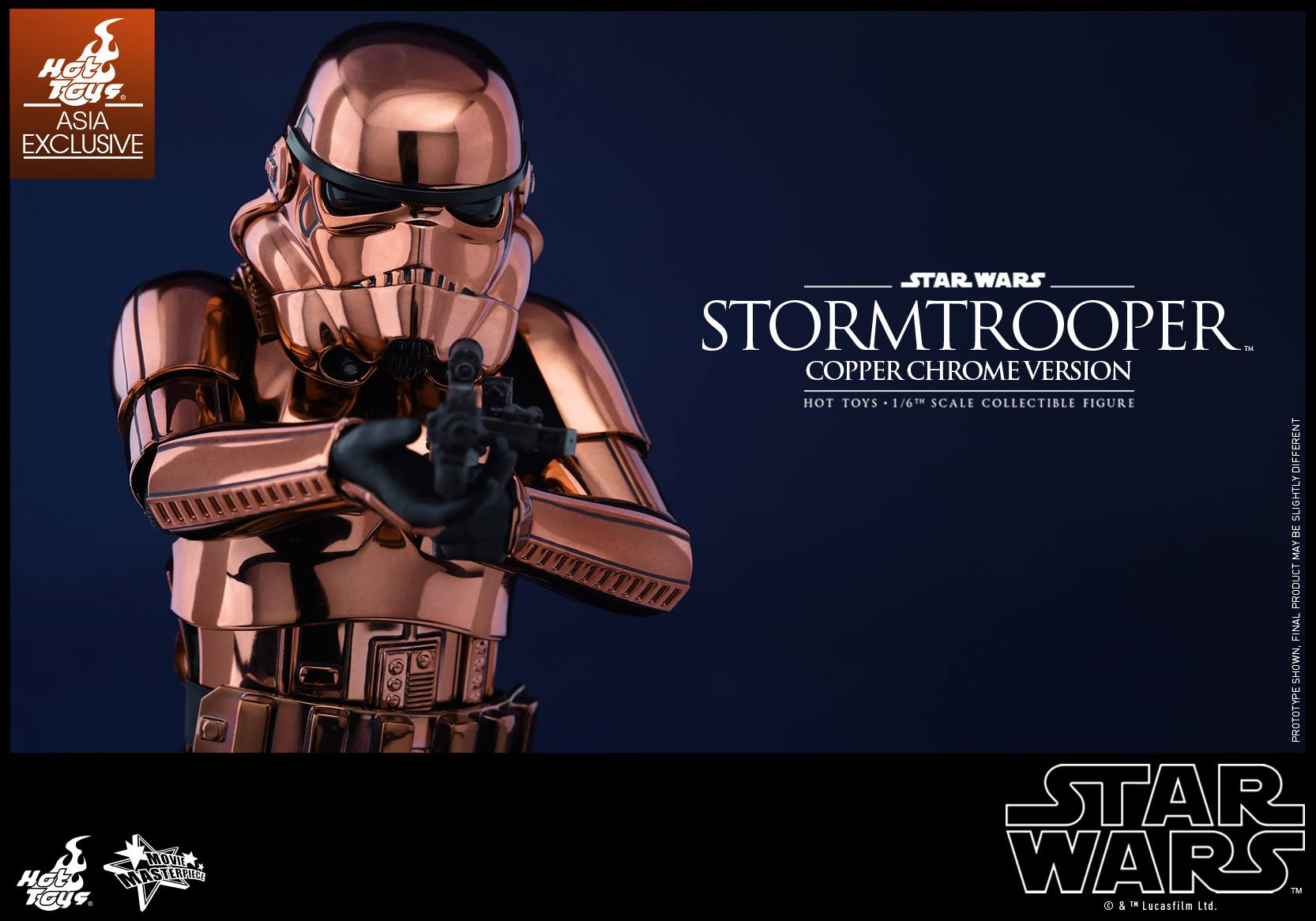 HOT TOYS - Star Wars: TFA - Stormtrooper Copper Chrome 520877111