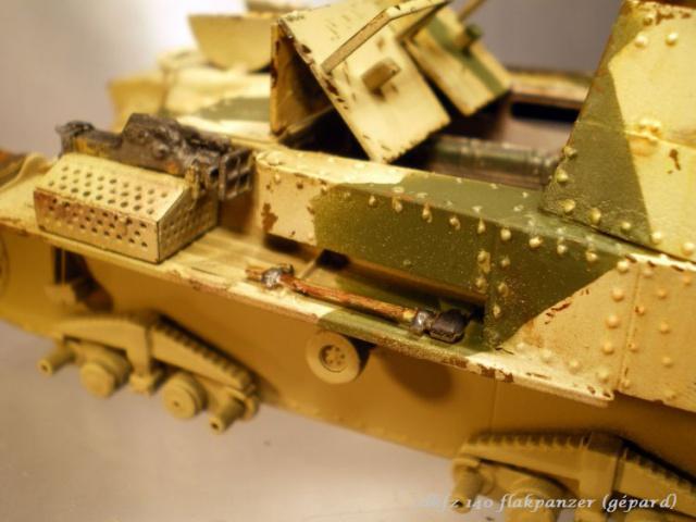 sd.kfz 140 flakpanzer (gépard) maquette Tristar 1/35 521355IMGP3089