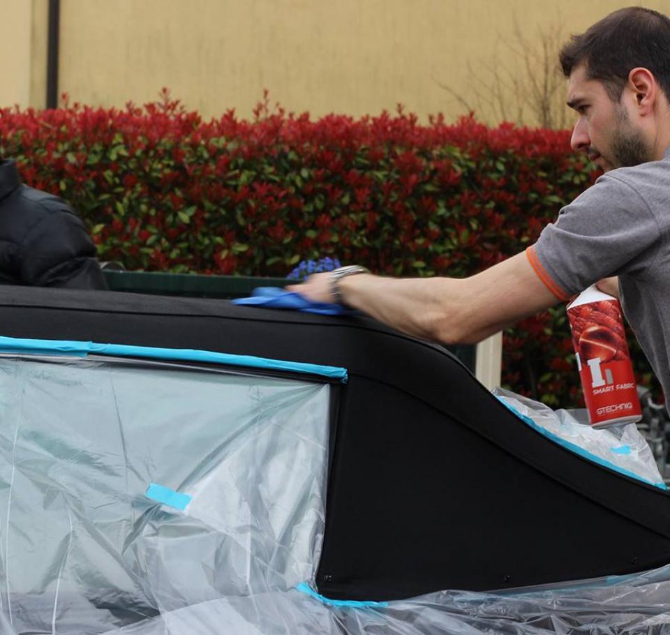 PORSCHE 993 Cabrio - Preparazione interna/esterna 5215670913