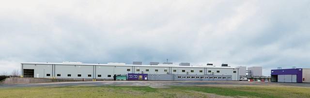 Inauguration de l'usine Bluetram, par le Groupe Bolloré, à Quimper 521708BTHS150106835BATIMENTLQFA