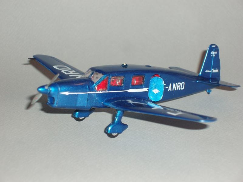 Heller avion Caudron Simoun (version Air Bleu). 521812cs28