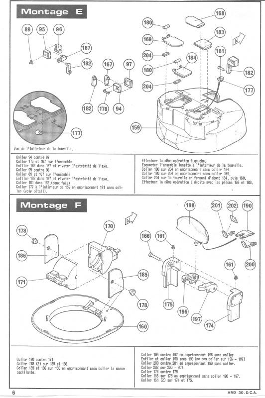 AMX 30 DCA - (Réf. L811) 1/35 521913HellerAMX30DCA811006