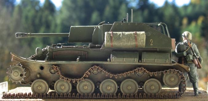 SU 76M  Miniart 1/35 522749modles123008