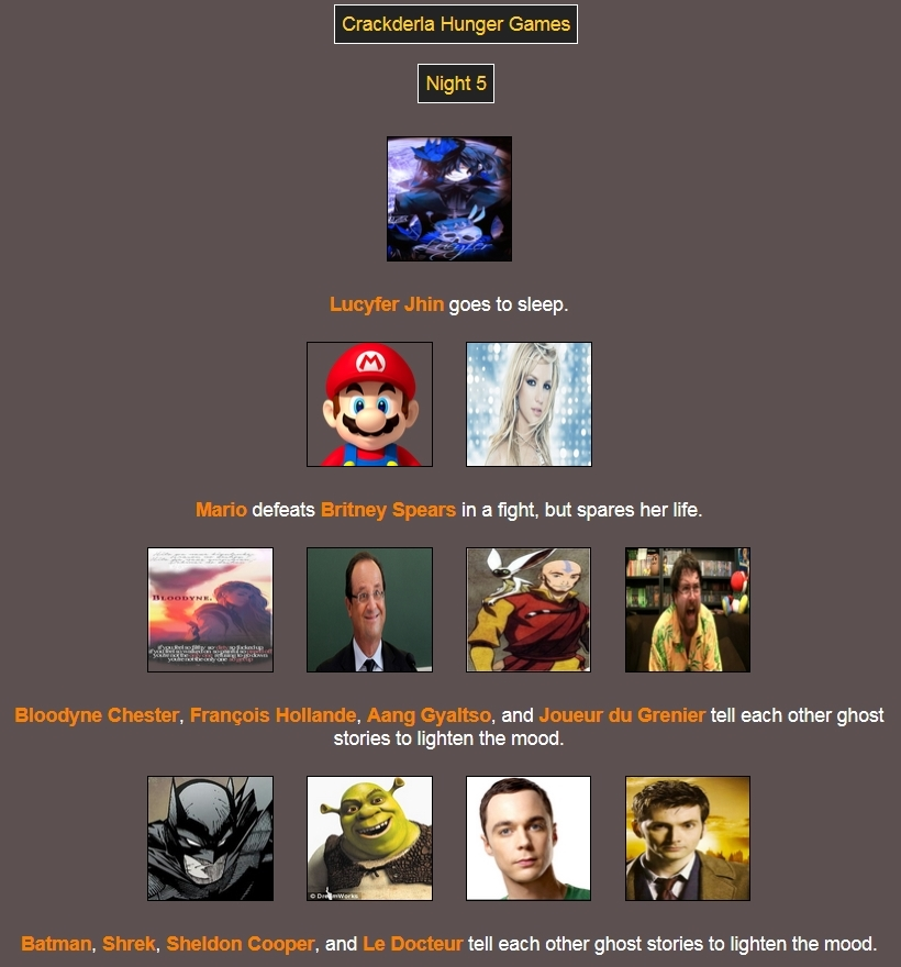 [Crackderla N°1] Hunger Games - Page 7 5235546Night5