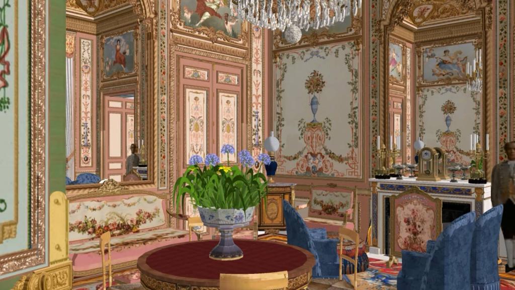 Reconstitution virtuelle du Palais des Tuileries, états Premier Empire et Second Empire - Page 2 5241766salonrose