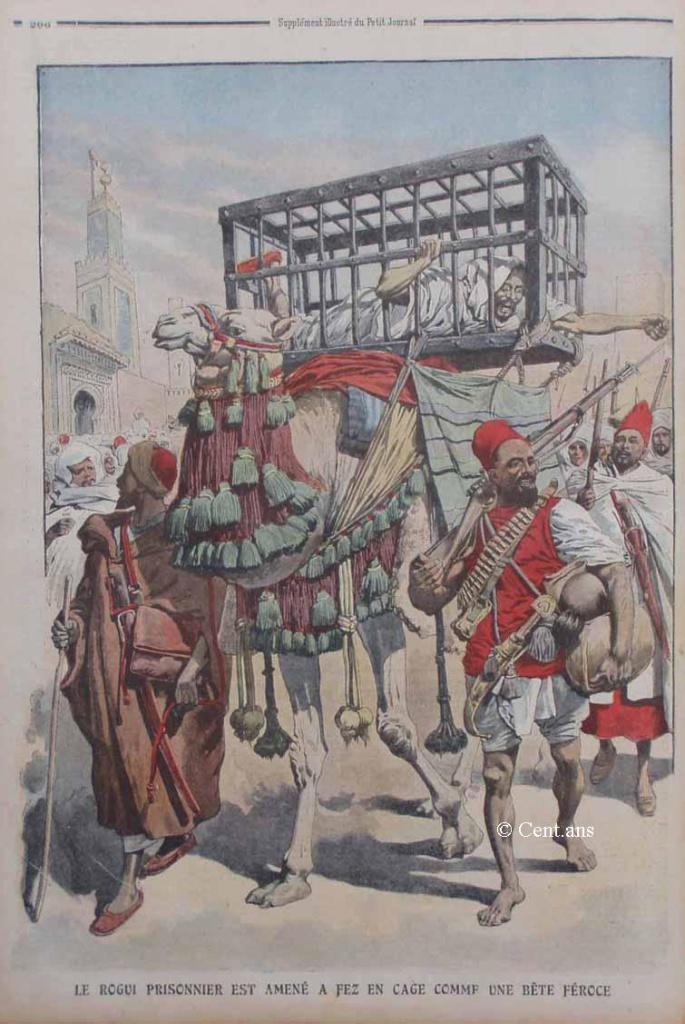 صفحات من تاريخ المغرب الحديث من خلال Le Petit journal illustré 524871pj98212091909b