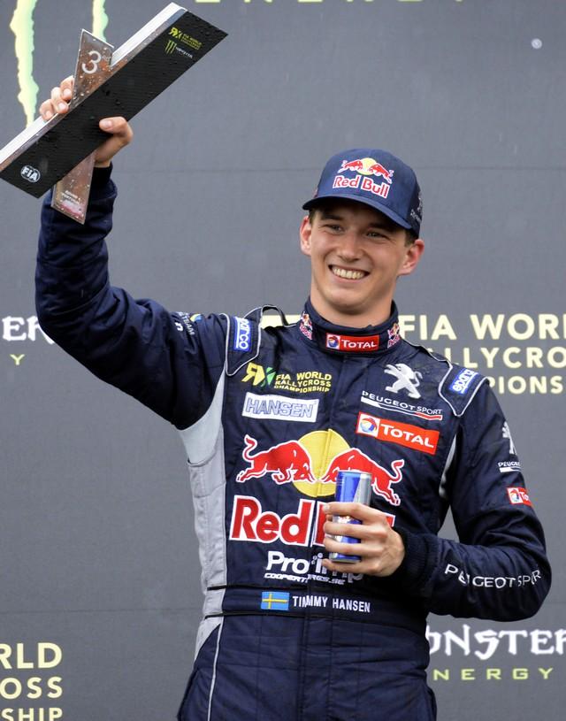 Première course et premier podium pour le Team Peugeot Hansen ! 526294553d2ca92d996