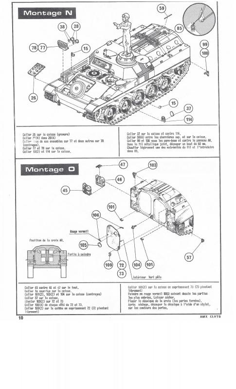 AMX 13 VTB - (Réf. L787) 1/35 527390VTB010