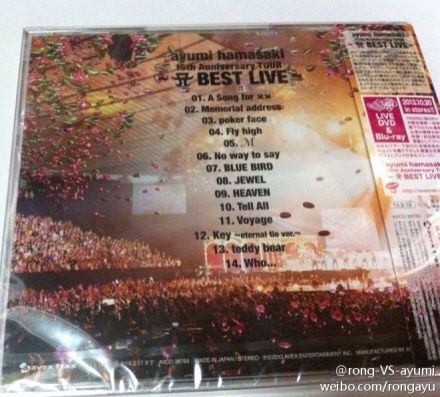 "Ayumi Hamasaki >> minialbum ""Again"" - Página 13 527429b6f41bd5ad6eddc45d69923438dbb6fd53663376"