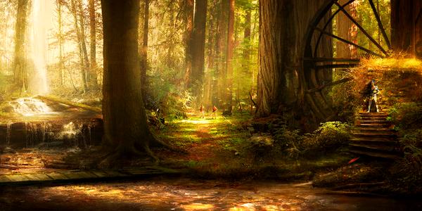 LOMINA - La Forêt de Lumière