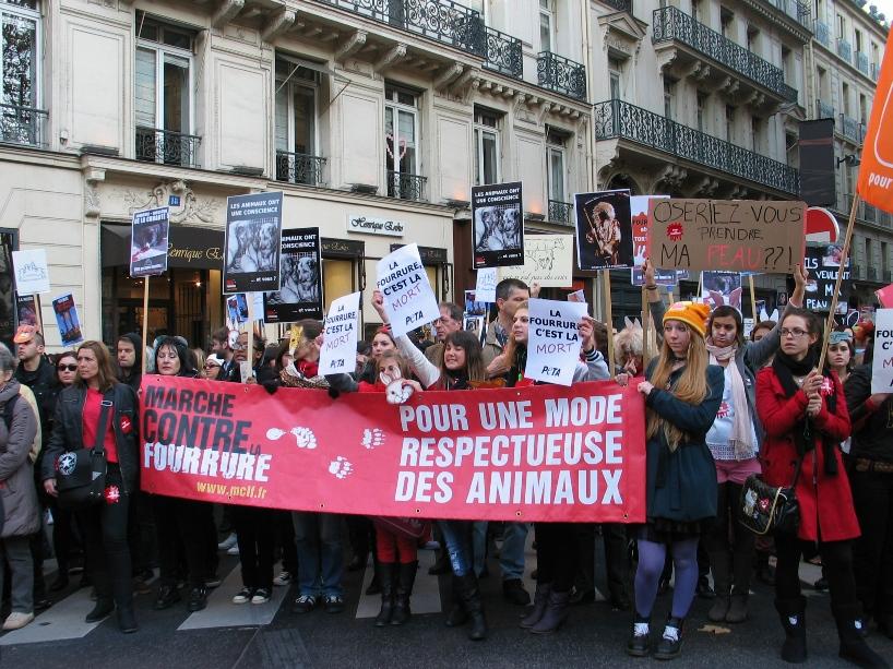 07 - Marche contre la fourrure - Paris 19 novembre 2011. 528329IMG6499