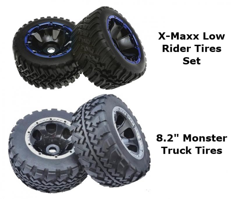 Des roues pour X-maxx par Kershaw Disigns  529088roueskd