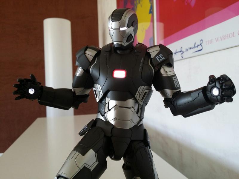 """red360 collec"""": War Machine MKII Diecast Hot Toys 529756201407161612381"""