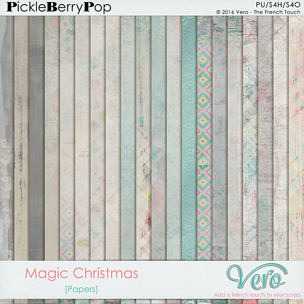Véro - MAJ 02/03/17 - Spring has sprung ...  - $1 per pack  - Page 10 529936Veromagicchristmaspppv