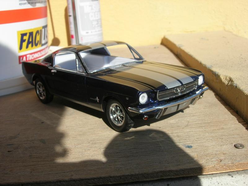 "Mustang Fastback""65 Revell. - Page 2 530089DSCN0073"
