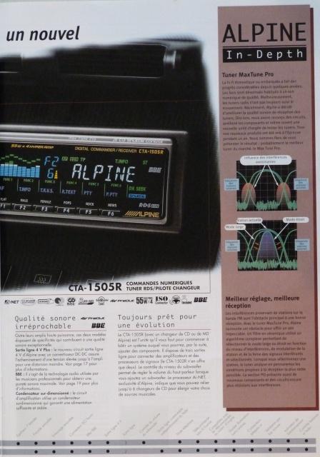 //////Alpine CTA 1505, un super tuner pour un système évolutif! 531725P11503882