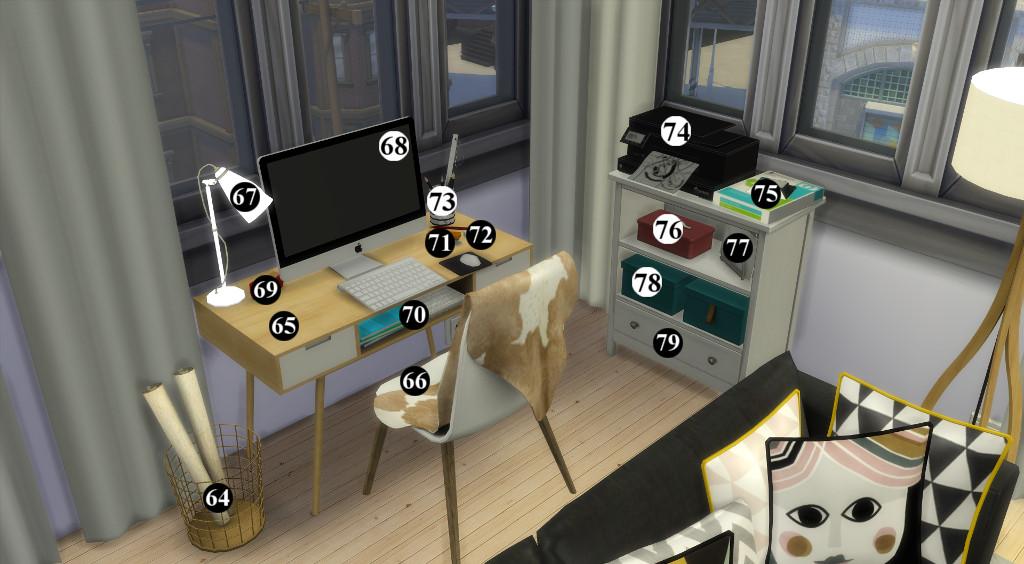 Appartement scandinave (let's build et téléchargement) 53519414en1024avecnumros
