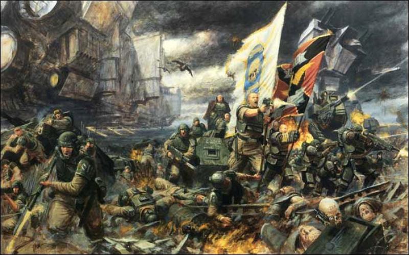 [W40K] Collection d'images : La Garde Impériale 536051Cadian8thRegimentsmall