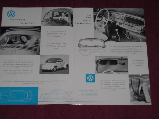 Dépliant coccinelle 1958 536278DSCN2649