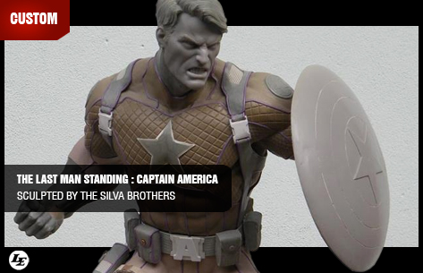 [CUSTOM] The Last Man Standing : Captain America - Sculpted By The Silva Brothers 536388captain