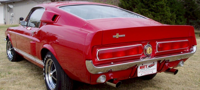 mustang shelby 350 GT 1967  au 1/25 de chez AMT/ERTL  538817mustangshelby350GT2