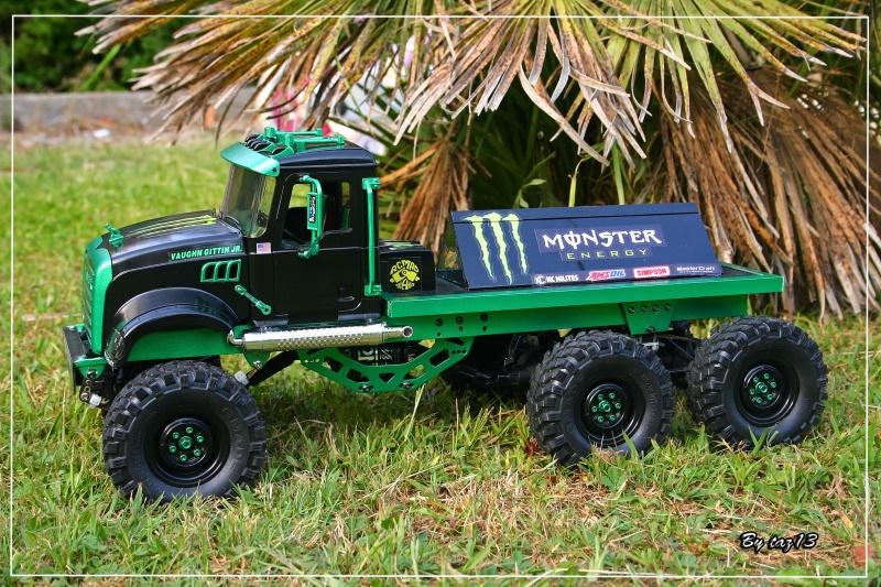 Mack 6x4 Monster Energy (FINI en attente d'un arceau) 539061IMG8107