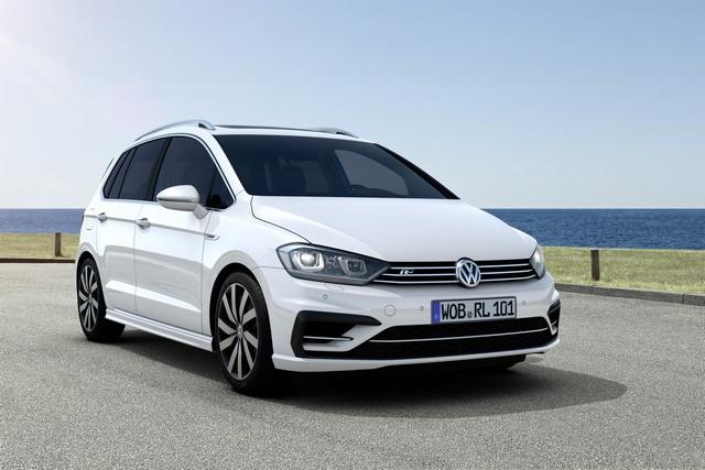 Volkswagen R GmbH rehausse le look sport de la Golf Sportsvan  539364thddb2015au01276large