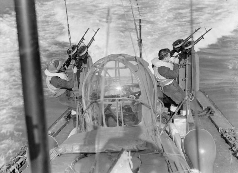 High Speed Launch - Maquette Airfix 1/72ème 539645HSLpostesarmementarrire1944