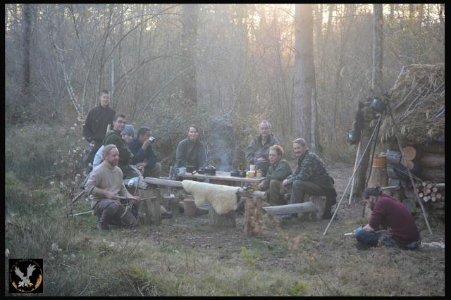 CR : Week end du bushcraft ARCHERIE - 2/6 décembre 2015 540348photogroupestagearcheriesurviejohncevsf