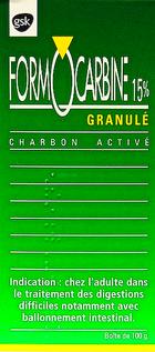 CHARBON VÉGÉTAL ACTIVÉ. 541636formoc