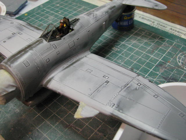 Restauration P-47D Monogram 1/48 .......Terminé!  541921IMG5473